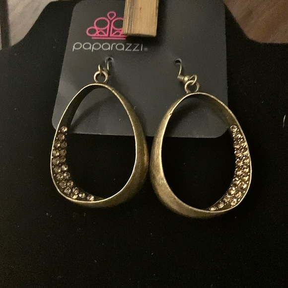 Fiercely Flauntable Brass Earrings